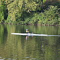 Schuylkill Rower by Bill Cannon