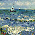 Vincent van Gogh - Seascape near Les...