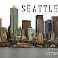 Connie Fox - Seattle Ferry Piers...