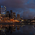 Mike Reid - Seattle Night Skyline