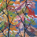 Beverly Livingstone - Semi-Abstract Trees