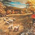 Joy Nichols - Sheep in October