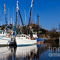 Dawna  Moore Photography - Shrimp Boats on the...
