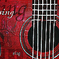 Noelle Rollins - Sing Red Guitar