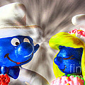 M and L Creations - Smurf Wedding