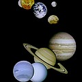 Solar System Montage by Movie Poster Prints