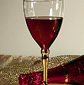 Inspired Nature Photography By Shelley Myke - Sparkling Wine for One