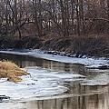 Bruce Bley - Spring Thaw on the Creek