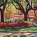 Eve  Wheeler - Springtime in Savannah