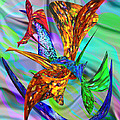Michele  Avanti - Stained Glass Birds