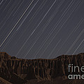 Star Trails Above Martians Valley by Amin Jamshidi