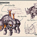 Mark Page - Steam Rhino