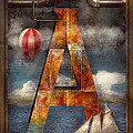 Mike Savad - Steampunk - Alphabet - A...