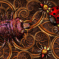 Mike Savad - Steampunk - Insect -...