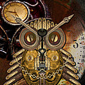 Shannon Story - Steampunk Owl