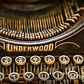 Steampunk - Typewriter - Underwood by Paul Ward