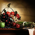 Levin Rodriguez - Still Life with grapes...