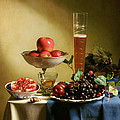 Levin Rodriguez - Still Life with Grapes