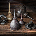Michael Levy - Still Life with Oil Cans