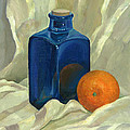 Nonna Mynatt - Still life with orange