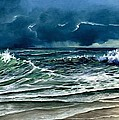 Lynne Wright - Storm off Yucatan