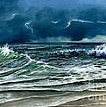 Lynne Wright - Storm Off Yucatan Mexico