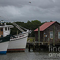Dale Powell - Stormy Seas on Shem Creek