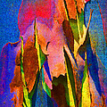Margaret Saheed - Summer Eucalypt Abstract...