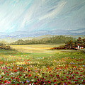 Dorothy Maier - Summer Field at the Farm