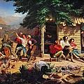 Sunday Morning In The Mines by Charles Nahl