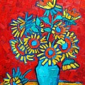 Ana Maria Edulescu - Sunflowers Bouquet