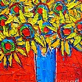 Ana Maria Edulescu - Sunflowers Bouquet In...