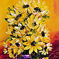 Teresa Wegrzyn - SUNFLOWERS  no.3