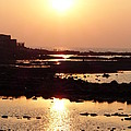 Soumen Chattopadhyay - Sunset at Hazi Ali