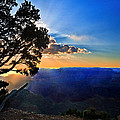 Nadine and Bob Johnston - Sunset Grand Canyon