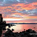 Linda Arnado - Sunset in Lake Tahoe