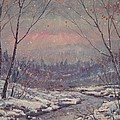 Leonard Holland - Sunset In Winter.