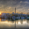 Sunset On The Esifabrik by Nathan Wright
