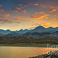 Robert Bales - Sunset Over Lost  River...
