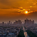 Geri Madera - Sunset over Paris