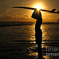 Bob Christopher - Sunset Surfer Corcovado...