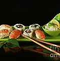 Inspired Nature Photography By Shelley Myke - Sushi Seafood Indulgence