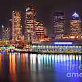 Jon Holiday - Tampa Skyline at Night...