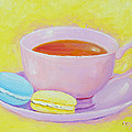 Jan Matson - Tea and macaroons