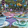 Thomas Woolworth - Tea Cup Ride Fantasyland...