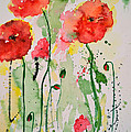 Ismeta Gruenwald - Tender Poppies - Flower