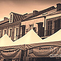 Kathleen K Parker - Tents at Tomato Fest in...