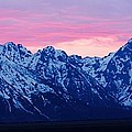 Shawn Hughes - Tetons at Sunset