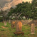 Delilah Downs - Texas Cemetery Beneath a...