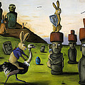 The Battle Over Easter Island by Leah Saulnier The Painting Maniac